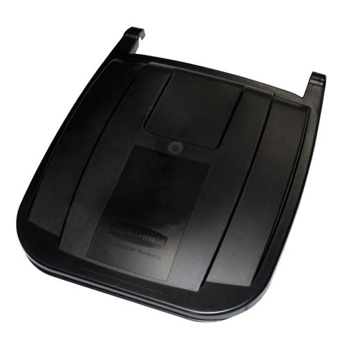 rubbermaid fg9w27l2bla 50 gal black rollout lidhandle