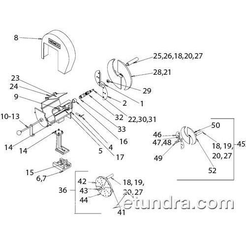 Nemco 55210-2 Trough Assembly
