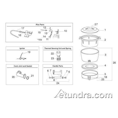 Rinnai Rice Cooker Parts