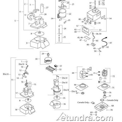 productImage 1 robot coupe r301 ultra parts etundra Wiring Diagram for Robot Coupe R2 Dice at gsmx.co