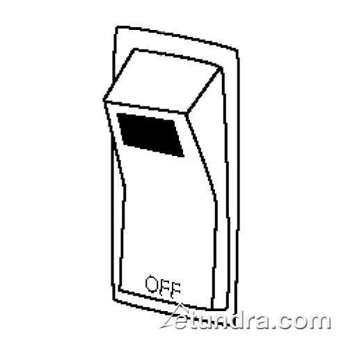 Off/Light Rocker Switch at Discount Sku 14217 WAR014217