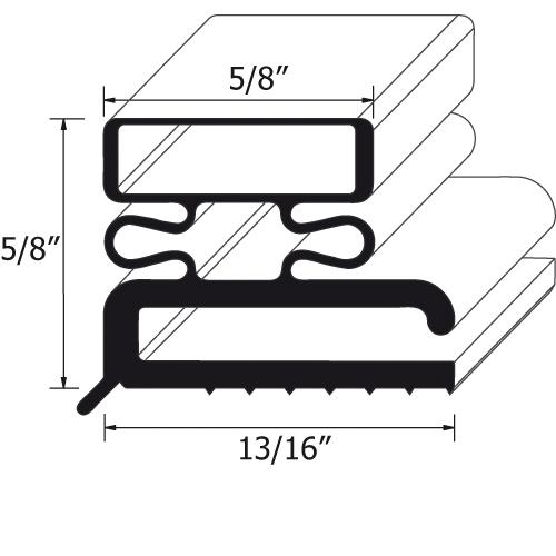 "23 3/8"" x 29 3/8"" Door Gasket at Discount Sku SVC-43493-00 741111"