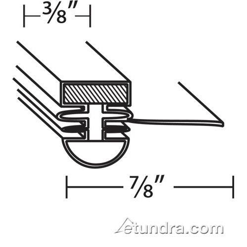 """16 1/2"""" x 27"""" Door Gasket at Discount Sku M362300100 TURM362300100"""