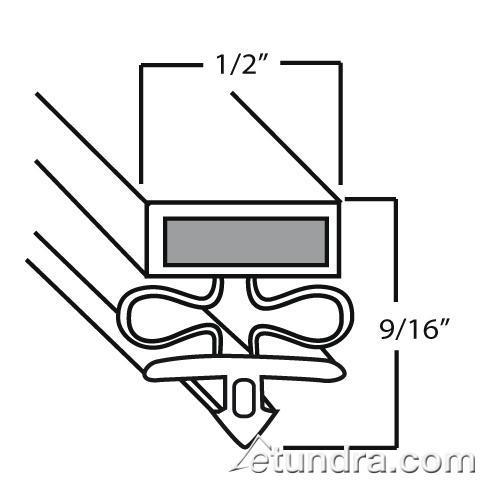 """26 5/8"""" x 61 3/4"""" Door Gasket at Discount Sku 50841902 VIC50841902"""