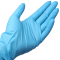 99892 - Karat - FP-GN1027 - Medium Blue Nitrile Gloves