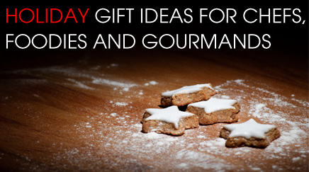 Christmas Guide - Holiday gift ideas for chefs, foodies and gourmands